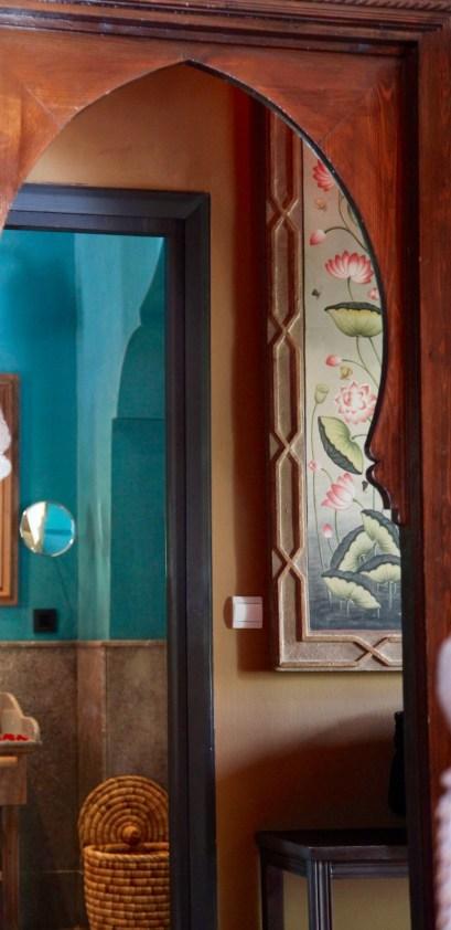 Kasbah Tamadot master suite detail
