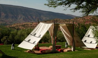 Kasbah Tamadot berber tents