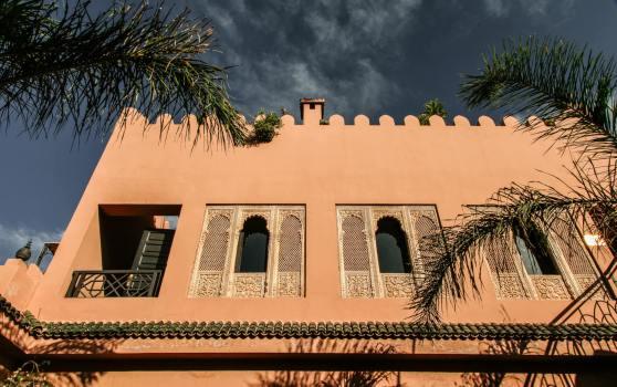 Kasbah Tamadot windows