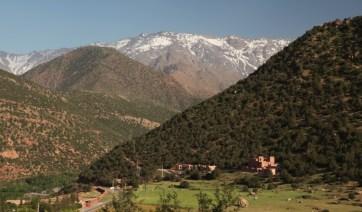 High Atlas Mountains valley
