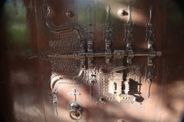 Even the locks to the rooms are rich with detail.