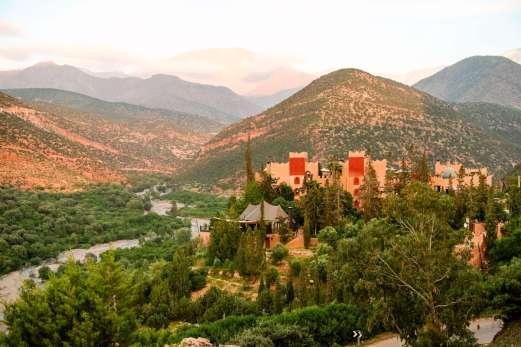 Kasbah Tamadot river view