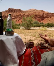 Dar Ahlam oasis picnic rug