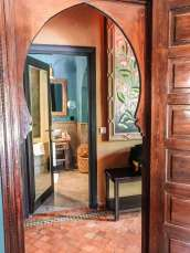 Kasbah Tamadot Master Suite doorway