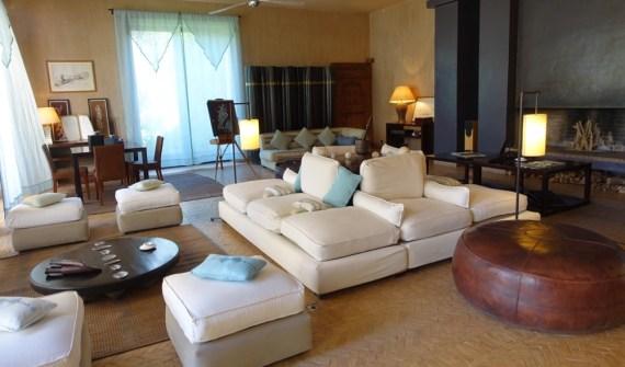 Dar Ahlam living room
