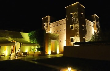Dar Ahlam at night lighting
