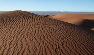 Dar Ahlam Tent Camp sunset dunes
