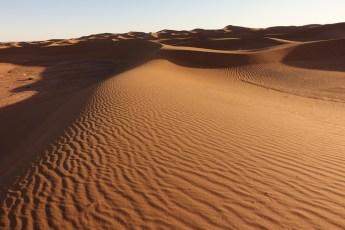Dar Ahlam Tent Camp sand waves