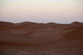 Dar Ahlam Tent Camp pre dawn dunes