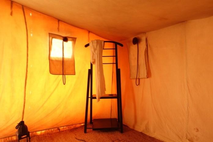 Dar Ahlam Tent Camp hanger
