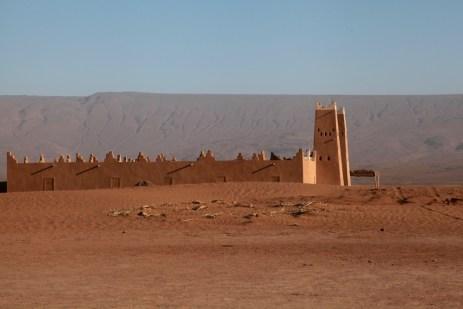 Dar Ahlam Tent Camp desert fort