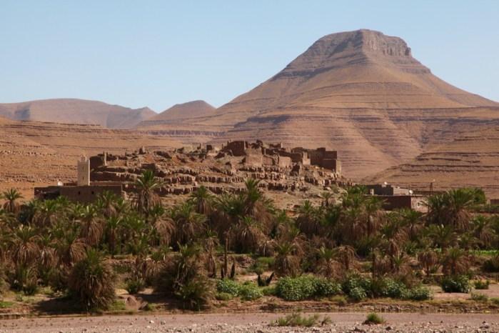 Dar Ahlam Tent Camp desert oasis town