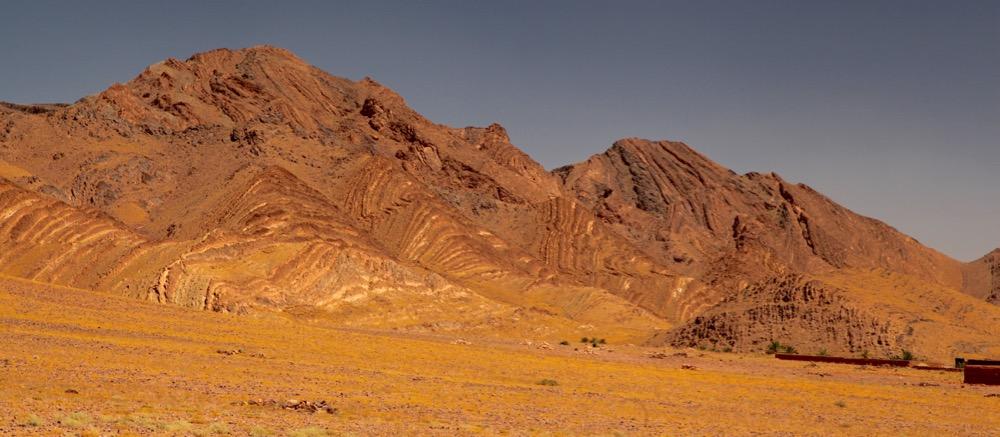 Morocco golden hills