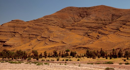 Morocco oasis hills
