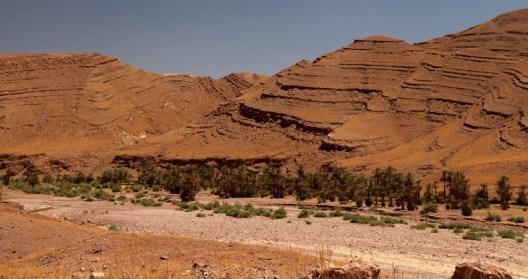 Morocco oasis canyons