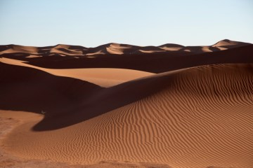 Dar Ahlam Tent Camp dunes
