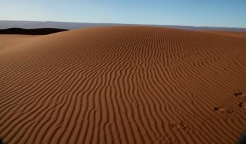 Dar Ahlam Tent Camp dune ripples