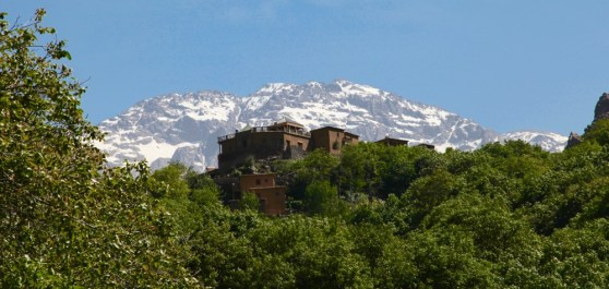 Kasbah Toubkal close