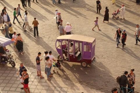 Jemaa el-Fnaa tuktuk