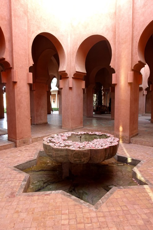 Amanjena fountain