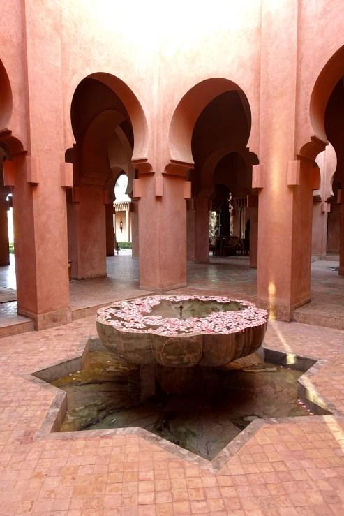 Amanjena fountain
