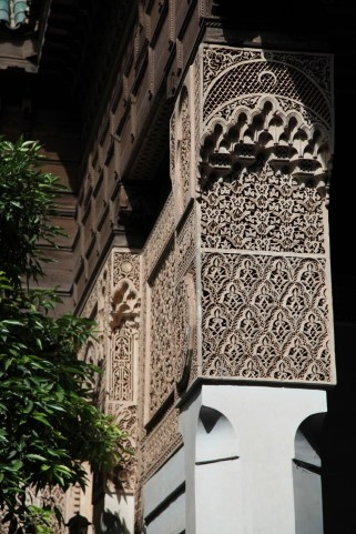 Medrassa Marrakesh column