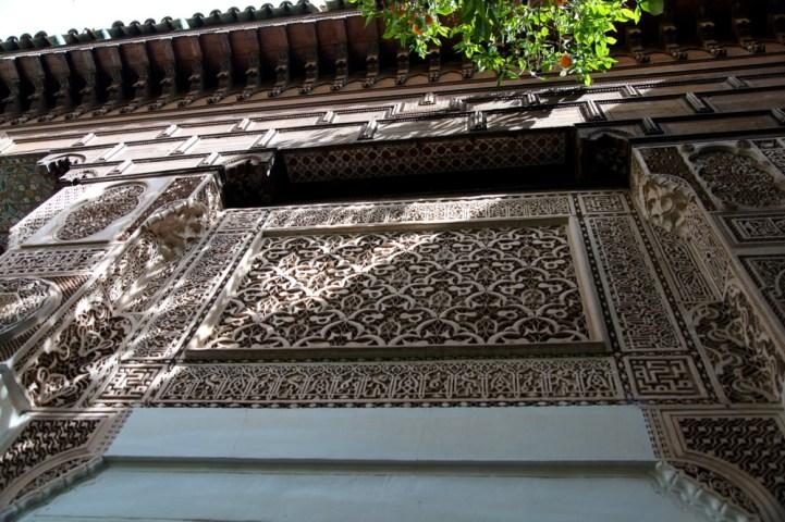 Medrassa Marrakesh wood carving