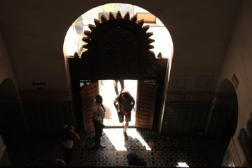 Medrassa Marrakesh doorway