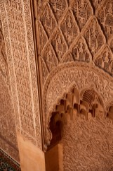 Medrassa Marrakesh carving