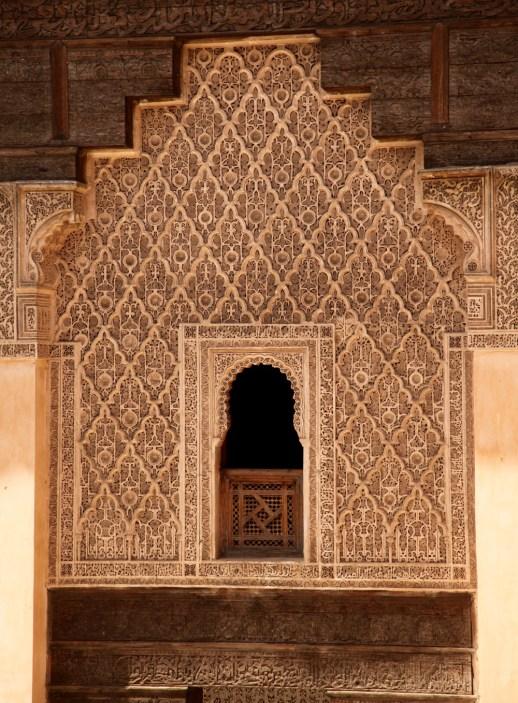 Medrassa Marrakesh window