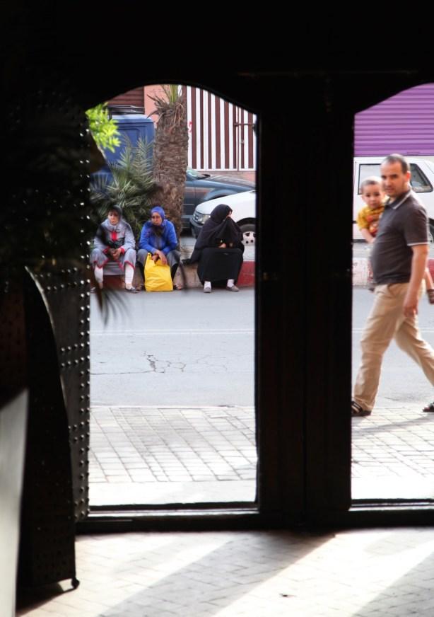 Marrakesh entryway