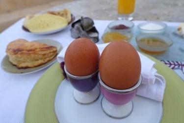 Villa des Orangers terrace breakfast breakfast