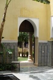 Villa des Orangers riad entrance