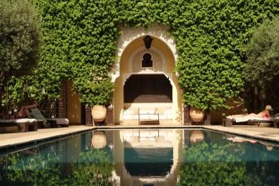 Villa des Orangers pool detail