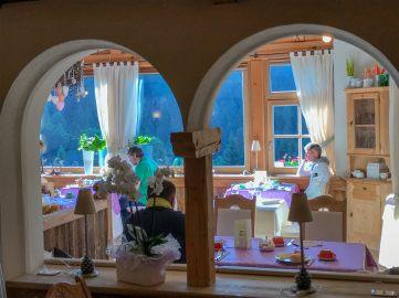 Hermitage BioHotel dining room