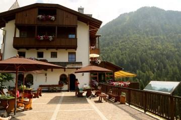 The wonderful Hermitage BioHotel. Perfect family-run hotel