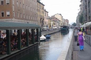 Naviglio Milano canals