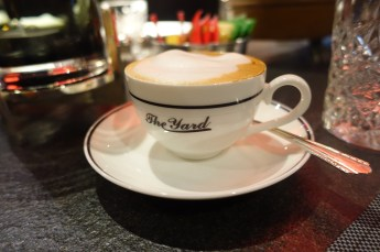 The Yard Milano breakfast coffee