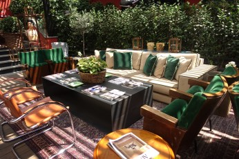 The Yard Milano couches lobby