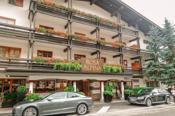 San Cassiano has to have the highest per-capita ratio of Audis