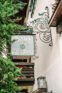 Rosa Alpina sign