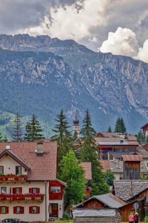 San Cassiano hotel view