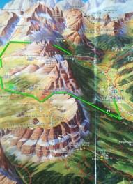 Fanes-Senes-Braies Hike Route
