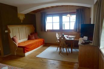 Hotel Rosa Alpina junior suite room