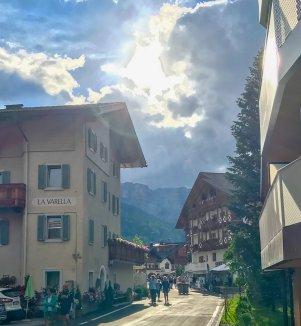 San Cassiano sunny street