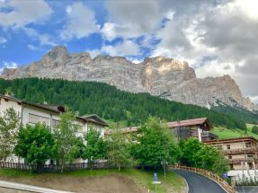 San Cassiano town view