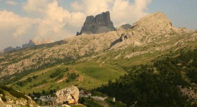 Passo Valparola on the road to Cortina
