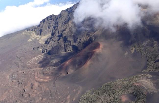 Haleakala volcano glider