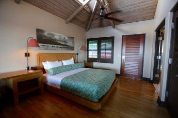 Travaasa bungalow room