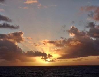 Travaasa Hana bungalow sunrise